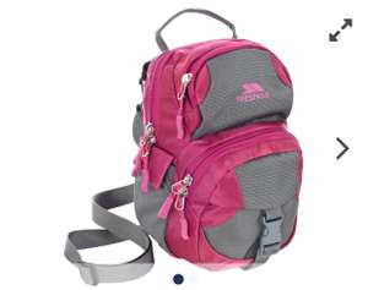 Clio 1.5 Litre Pink Shoulder Bag - £4.99 (+£2.95 Delivery) @ Trespass