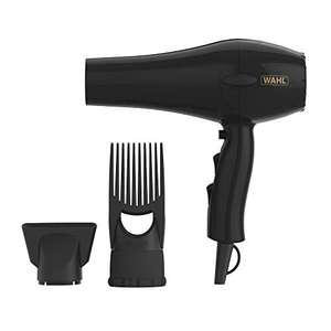 Wahl Hairdryers for Women Powerpik 3000 Hair Dryer with Pik Attachment - £14.99 (Prime) + £4.49 (non Prime) at Amazon