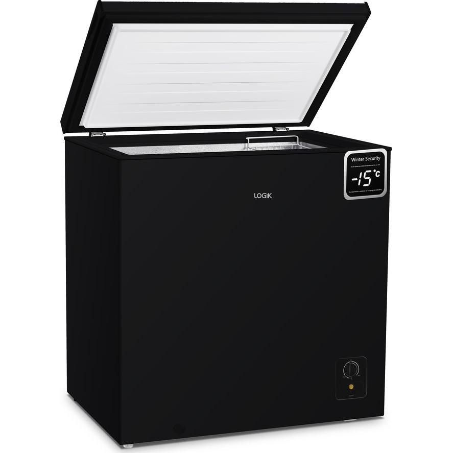 Logik Chest Freezer 198 Litres - L198CFB20 Black / L198CFW20 White £169.99 @ Currys PC World