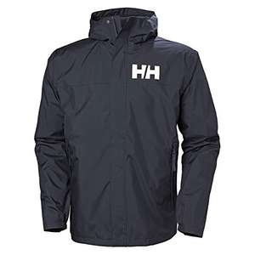 Helly Hansen Men's Active 2 Waterproof Jacket, Navy, XXL - £45.55 Delivered @ Amazon