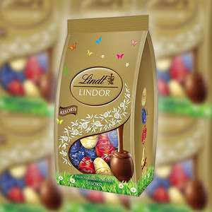 3 X Lindt Lindor Assorted Chocolate Mini Eggs 180g Packs £9 @ Yankee Bundles