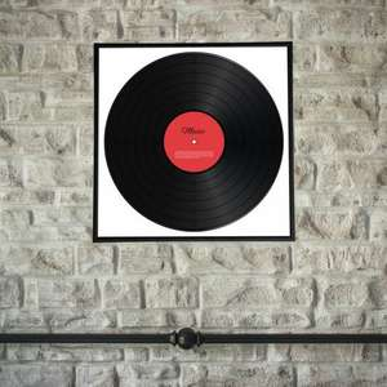 "£3.50 Black 12"" Vinyl/Record Album Frame £3.15 (£3.99 delivery) @ MenKind"