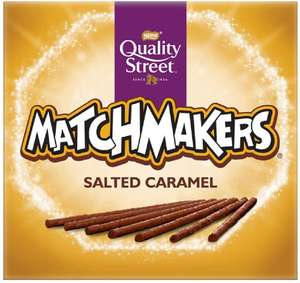 Quality Street Matchmakers Salted Caramel Chocolates 120g £1 (£4.49 p&p non prime) 85p/95p s&s @ Amazon