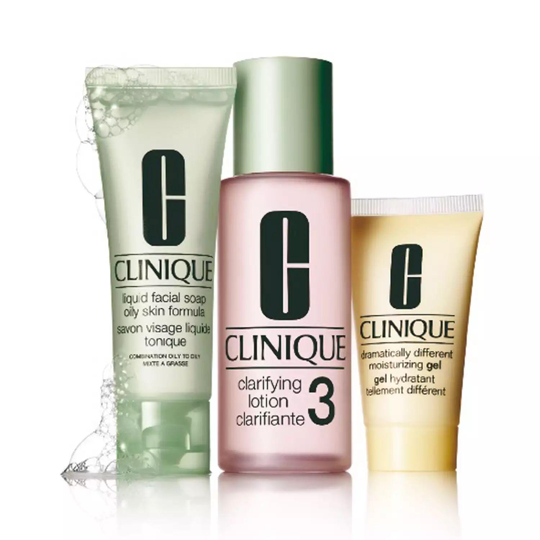 CLINIQUE 3 Step Intro Set Skin Type 3 - £7 (+£4.49 non-prime) @ Amazon