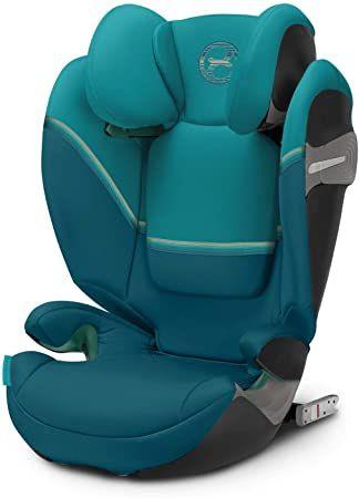 CYBEX Solution S i-Fix Child's Car Seat, Group 2/3, £100.36 (Navy Blue) £102.24 (River Blue) £118.22 (Deep Black) @ Amazon