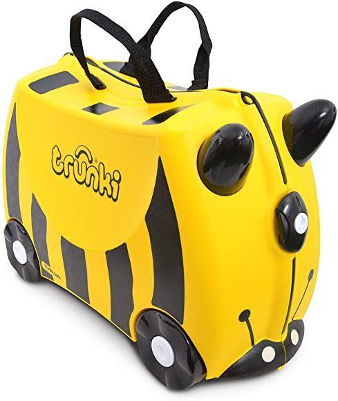 Trunki 14 All Year Children's Luggage, One Size (Yellow & Black) ( Harley Ladybug Red £18.99)- £18 Prime / + £4.49 non prime @ Amazon