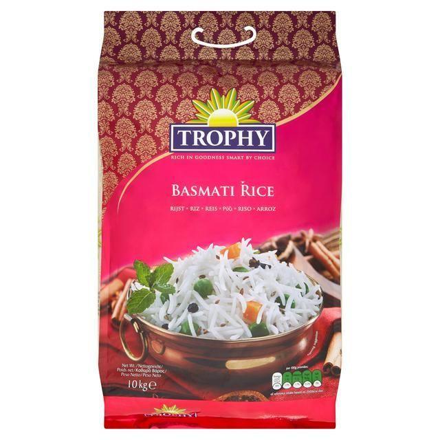 Trophy Basmati Rice 10KG £10 @ Asda (Min Basket / Delivery Fee applies)