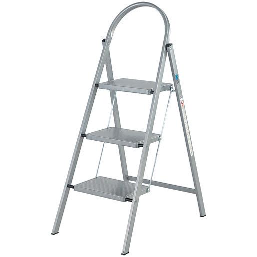 Abru 3 Step Handy Folding Stepstool - Grey for £16 / (£23.95 delivered) @ Wickes