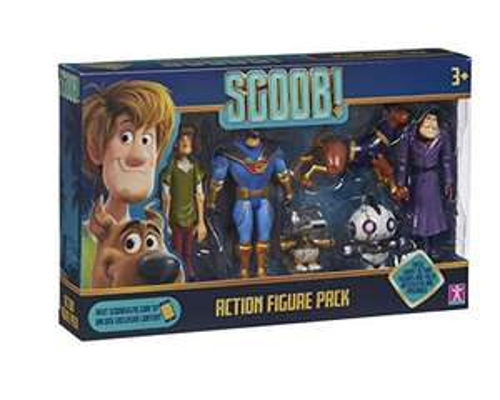 Scooby Doo SCOOB Action Figure Multi Pack £6.99 (Prime) + £4.49 (non Prime) at Amazon