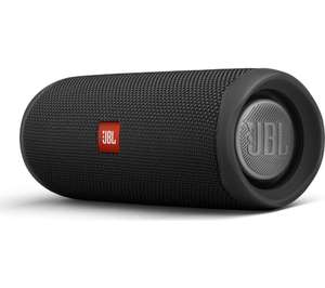JBL FLIP 5 Portable IPX7 Waterproof Bluetooth PartyBoost Speaker - Black £69.99 with free delivery at Robert Dyas