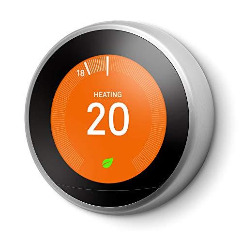 Google Nest Learning Thermostat, 3rd Generation - £166.21 @ Amazon