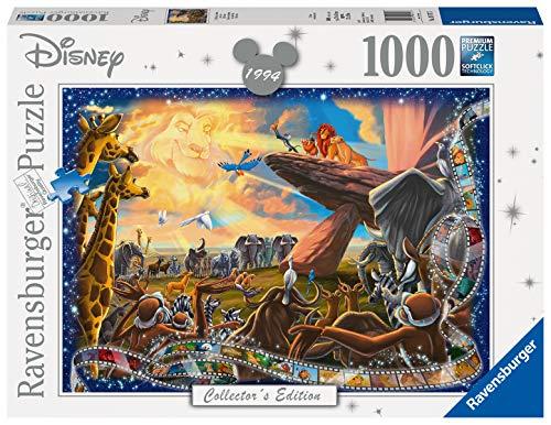 Ravensburger 19747 Disney Collector's Edition Lion King 1000 Piece Jigsaw Puzzle £7.98 prime / £12.47 non prime @ Amazon