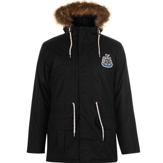 Men's NUFC Newcastle United Parka Jacket Now £40.99 Delivered @ NUFC Direct