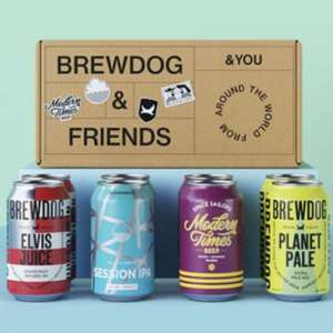8 Free Beers when you sign up to BrewDog Monthly Membership - £3.95 delivery @ BrewDog