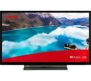 """TOSHIBA 32LL3A63DB 32"""" Smart Full HD LED TV - £198 from CURRYS"""
