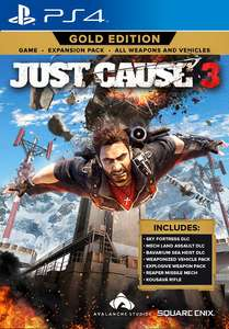 Just Cause 3 Gold Edition - PS4 - £8.99 Delivered @ Square Enix