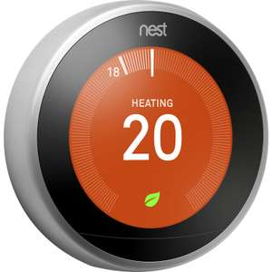 Nest Learning Thermostat with NO Longer with free google mini - £159 Delivered @ Toolstation