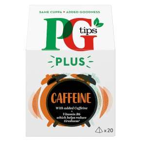 PG Tips Caffeine Pyramid Tea Bags 20 Pack £1 @ Asda (Bradford)