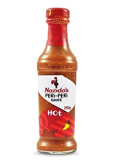 Nando's Hot and Medium Peri-Peri Sauce, 250g - £1.99 instore @ Farmfoods, Sutton