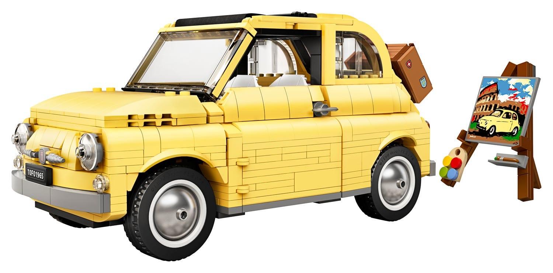 Lego Creator Expert Fiat 500 - £60.44 delivered using code @ Hamleys