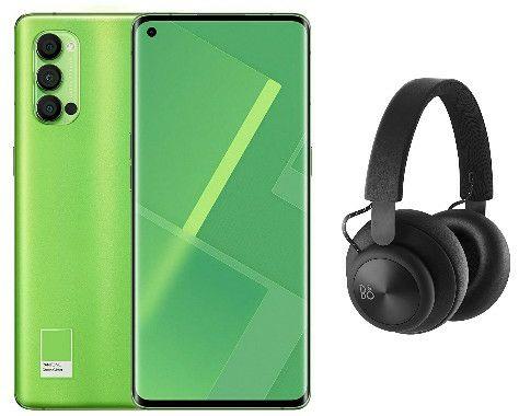 OPPO Reno4 Pro 5G - 12GB + 256GB Snapdragon 765G Smartphone + Claim Free B&O H4 Headphones - £499.99 @ Amazon