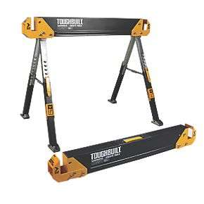 Toughbuilt Saw Horse Workbench with Adjustable Legs (set of two) - £99 delivered from Screwfix