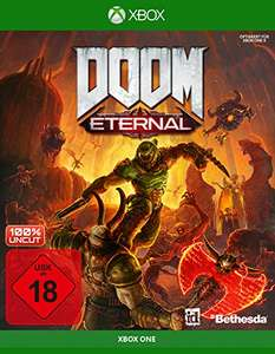 Doom Eternal - (Xbox One) German Version USK18 - £9.65 Prime/+£4.49 Non Prime (UK Mainland) Sold by Amazon EU @ Amazon