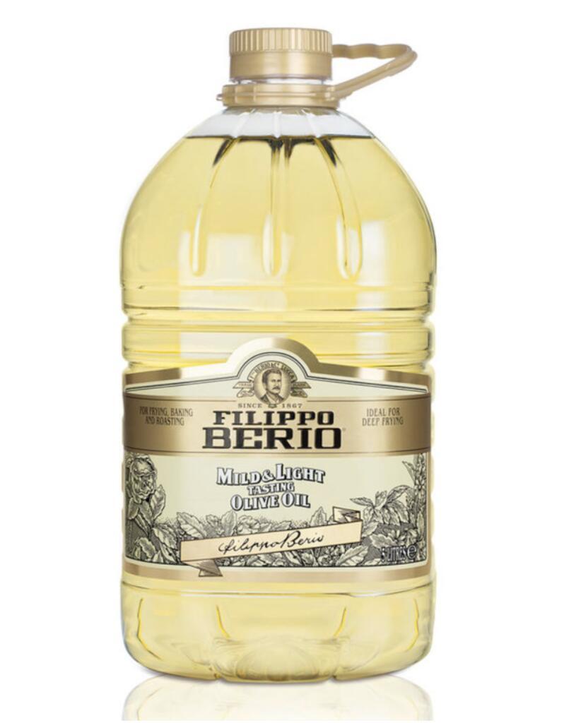 Filippo Berio Mild & Light Olive Oil, 5L £11.99 @ Costco