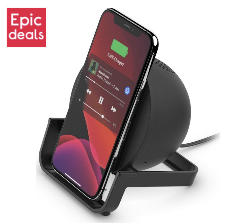 Belkin Wireless charger / speaker £39.99 - Buy One Get One Free @ Currys PC World
