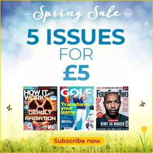 5 Magazine issues for £5 - Print and Digital - Huge List of Magazines @ Magazines Direct
