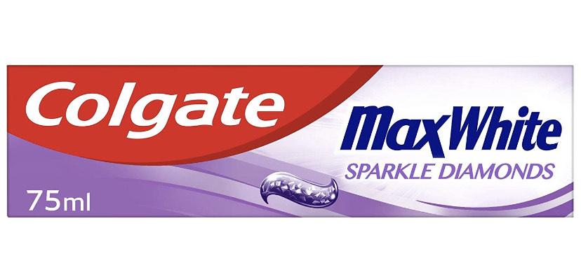 Colgate Max White Sparkle Diamonds Toothpaste 75ml - 90p (+£4.49 Non-Prime) @ Amazon