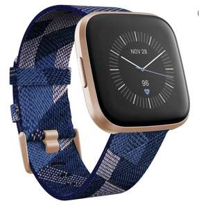 Fitbit versa 2 special edition with Amazon music and navy blue & pink strap - £84.97 @ Currys PC World
