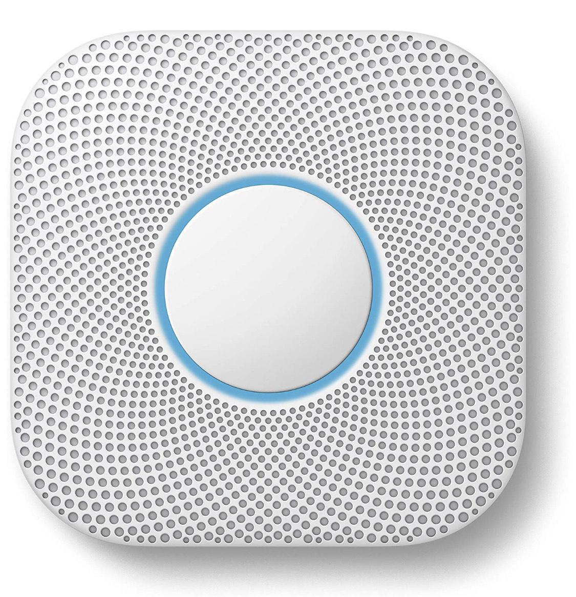Google Nest Protect Smoke + Carbon Monoxide Alarm (Battery) £79 @ Amazon
