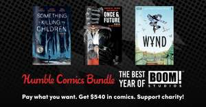 Humble Comic Bundle: The Best Year of BOOM! Studios 71p @ Humble Bundle