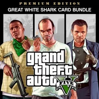 GTA V Online Premium Edition & Great White Shark Card Bundle [PS4] £7.99 @ PlayStation PSN Turkey