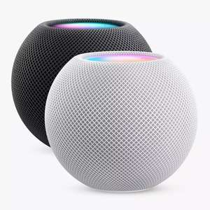 Apple HomePod Mini with Siri - Space Grey or Silver - 2 for £183 with code delivered (UK Mainland) @ AO