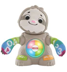 Fisher-Price Linkimals Smooth Moves Sloth sound toy £15.99 prime / £20.48 nonPrime at Amazon