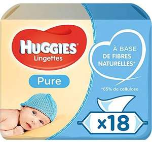 Huggies Pure Baby Wipes x 1008 - £10.50 (+£4.49 Non Prime / Possible £8.93 with S&S) @ Amazon