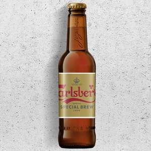 Carlsberg Special Brew Danish Lager 330ml Bottle - 99p at Home Bargains (Gosport) should be national though.