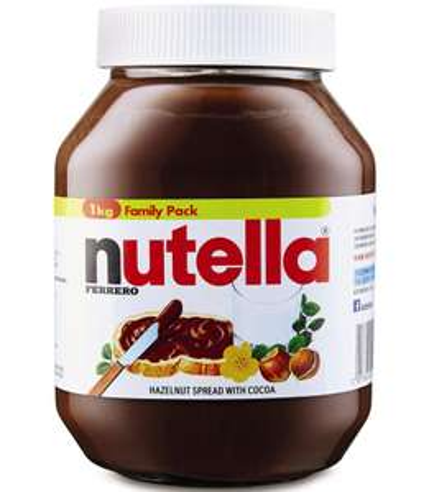 Ferraro Nutella Hazelnut Chocolate Spread 1Kg £3.99 at Aldi