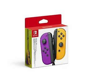 Nintendo Switch Joy-Con Controller Pair - including Purple/Orange - £55.99 delivered with code @ eBay / boss_deals