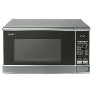 Sharp 800w 20L Capacity Microwave Oven with 10 Power Levels in Silver - £50.39 with code delivered @ Hughes eBay