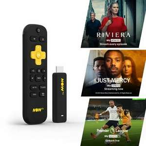 NOW TV Smart Stick with 3 passes (1 month Entertainment, Sky Cinema & 1 day Sky Sports Passes pre-loaded) - £19.99 @ Boss Deals eBay