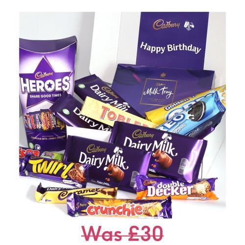 Cadbury Family Happy Birthday Hamper £15 + £3.49 Delivery @ Moonpig