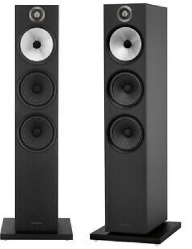 Bowers & Wilkins 603 Floorstanding Speakers - Matte Black £924 @ Peter Tyson / eBay