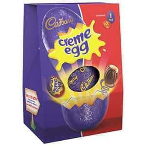 "Cadbury""s Creme Egg/Twirl/Maltesers/Minstrels/Smarties etc Large Easter Eggs are £2.50 @ One Stop"