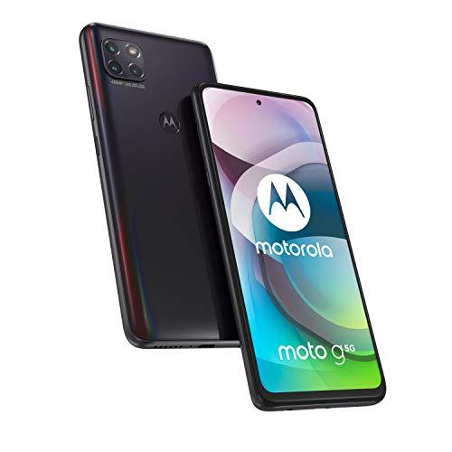 moto g 5G Dual SIM Smartphone (6.7 Inch Max 64 GB/4 GB, 5000mAh) + cover + car adapter - £200.13 @ Amazon DE