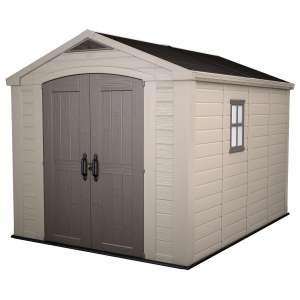 Keter Factor 8ft x 11ft (2.5 x 3.3m) Shed £869.89 @ Costco