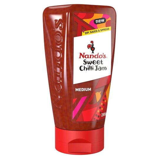 Nando's Sweet Chilli Jam Medium 285G £2.35 (Minimum Basket / Delivery Fees Apply) @ Tesco