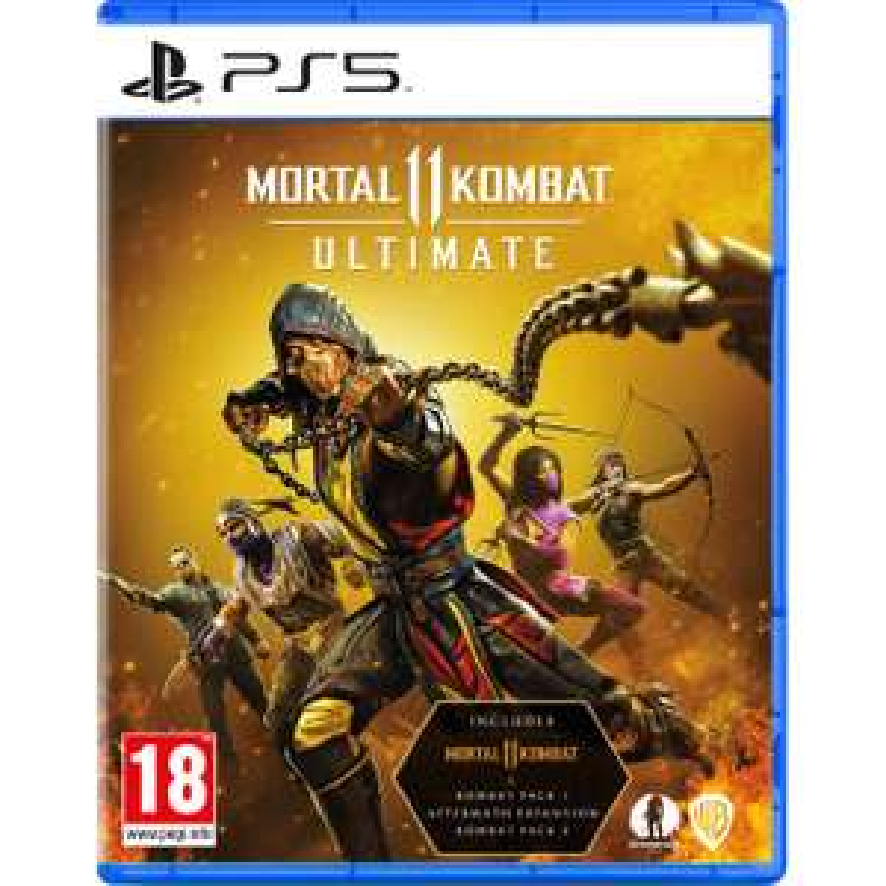 Mortal Kombat 11 Ultimate PS5 - £24 delivered (UK Mainland) @ AO